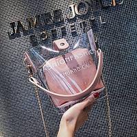 Стильная розовая сумочка, фото 1