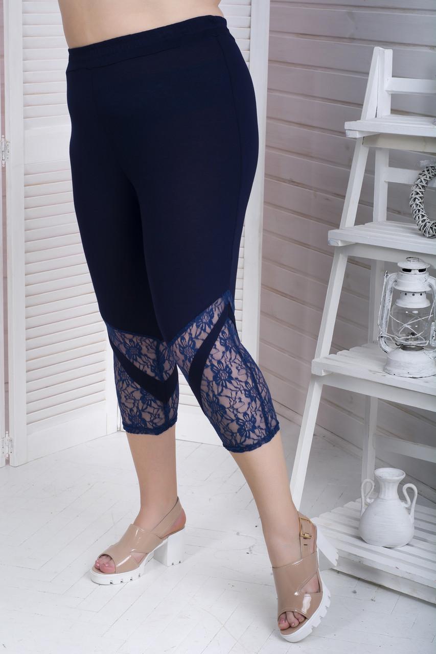 Стильні шорти для повних жінок Сандра 60-82 розмір