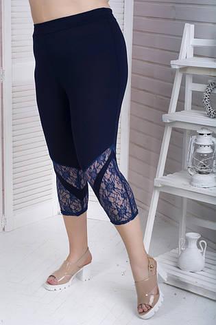 Стильні шорти для повних жінок Сандра 60-82 розмір, фото 2