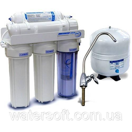 Система очистки воды Aqualine RO-5-BIORAY