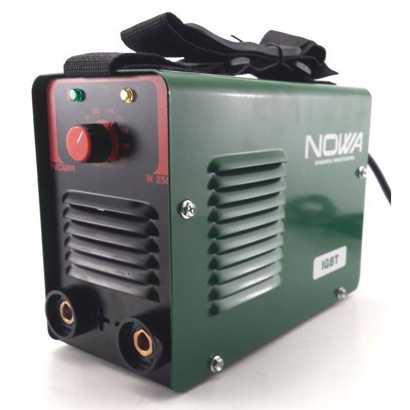 Инверторный сварочный аппарат NOWA 250. Сварка Нова