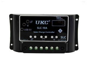 Контроллер для солнечных батарей Solar controller UKC 10A KN