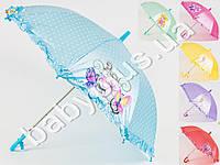 Зонтик детский ткань, рисунок, MK0208-1