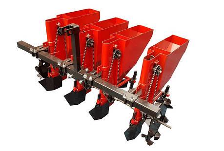 Чеснокосажалка 4-рядная для мототрактора и минитрактора, фото 2