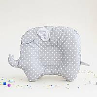 """Ортопедическая подушка для новорожденных """"Слоненок"""""""