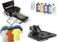 Комплект оборудования для прямой печати на цветных тканях. Текстильный принтер DGT 320 master