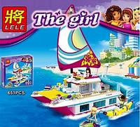 Конструктор The Girl Катамаран 37037 LELE