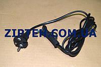 Сетевой кабель универсальный для фена HO5VVH2-F 2x0.75mm2.L=1,9m,16A/250V.