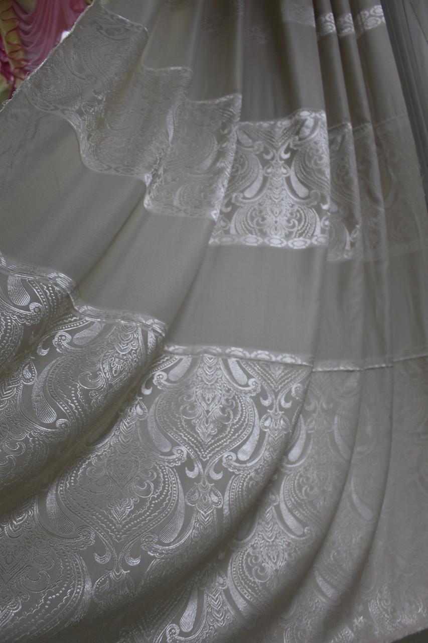 Ткань для штор бежевый цвет натуральный материал