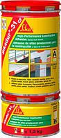 Эпоксидный двухкомпонентный конструкционный клей / серый Sikadur®-31 CF (AB) normal  1,2 кг
