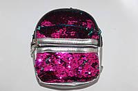 Рюкзак с двойными пайетками мини, фото 1