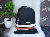Черный городской рюкзак., фото 1