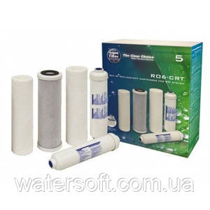 Комплект картриджів Aquafilter RO6-CRT