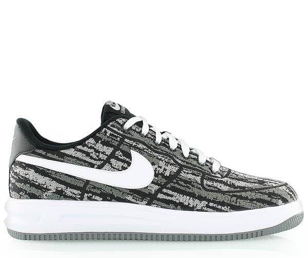 new product fad1d dd30f Кроссовки мужские Nike Lunar Force 1 Jacquard Black White, 39 -  Интернет-магазин Zapatos