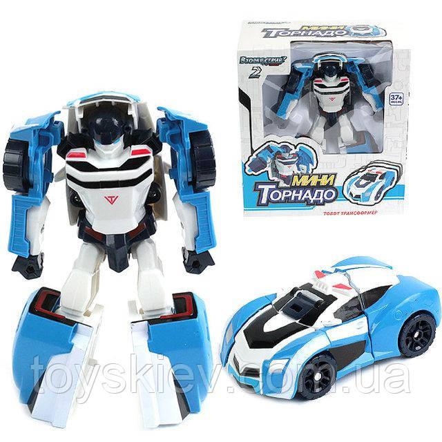 Трансформер робот Тобот мини, Tobot Торнадо 2 серия
