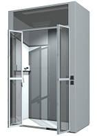 Шкаф вытяжной лабораторный для больших установок швл-03