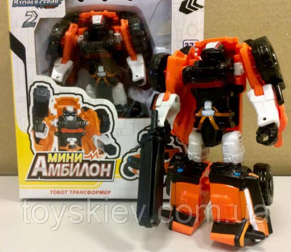 Трансформер робот Тобот мини, Tobot Амбилон 2 серия