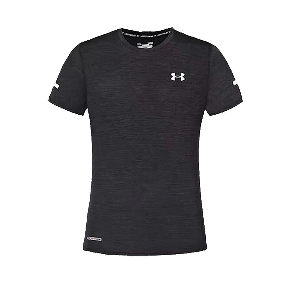 Футболка Under Armour HeatGear Regular Short Sleeve 661 XXL Черная (661)