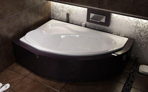 Ванна акриловая DELFINA соло (166х107)