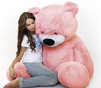 """Ведмідь-велетень сидячий """"Бублик"""" 200 див.(рожевий)"""