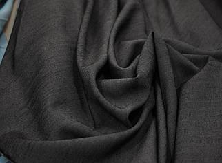 Джинсовая ткань летняя темно-серая