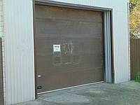 Ролет для гаража (секционный)