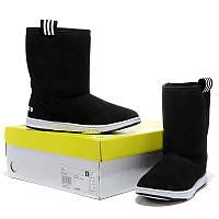 Женские зимние сапоги Adidas  High black, фото 1