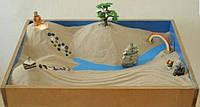 """Песочница мини """"Юнгианская"""" для деток , песочная терапия."""