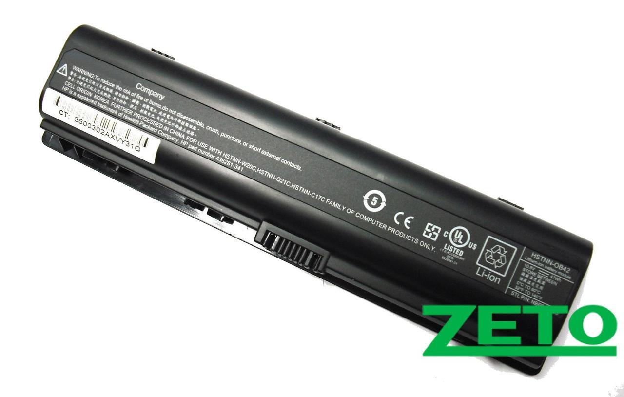 Аккумулятор HP Presario C700, F500, V6000, Pavilion DV2000, DV6000 (10,8V 5200mAh черная)