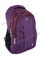 Рюкзак школьный для девочки 45*35 фиолетовый, оптом в Украине 2048 violet