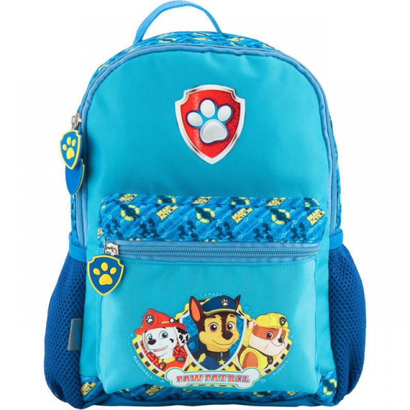 Рюкзак (ранец) дошкольный для мальчика синий Щенячий патруль, фирменный Kite PAW18-534ХS