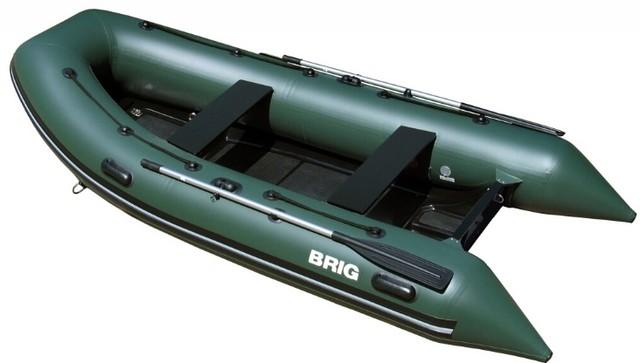 Надувная лодка со стеклопластиковым корпусом Brig F330