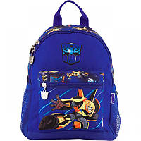 Рюкзак (ранец) дошкольный для мальчика синий Трансформеры, фирменный Kite TF18-534XS