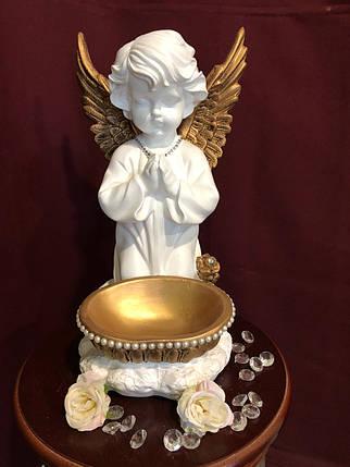 """""""Ангел с чашей"""" большой , золото, фото 2"""