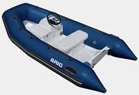 Пластиковая лодка с надувными баллонами Brig F330Deluxe