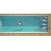 Композитный керамический бассейн Luxe Pools WANAKA 1000  - Размер  10х3.7х1.5м