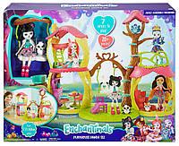 Игровой набор Лесной замок Энчантималсс куклой панда Прю Enchantimals Playhouse PandaFCG94