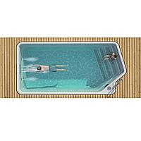 Композитный керамический бассейн Luxe Pools TOBA  - Размер  6х3х1.45 м, фото 1