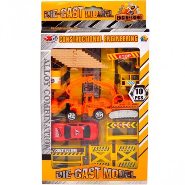 Набор строительной техники (87104)