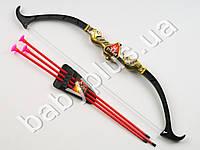 Лук, 3 стрелы-присоски, в кульке 541-1C