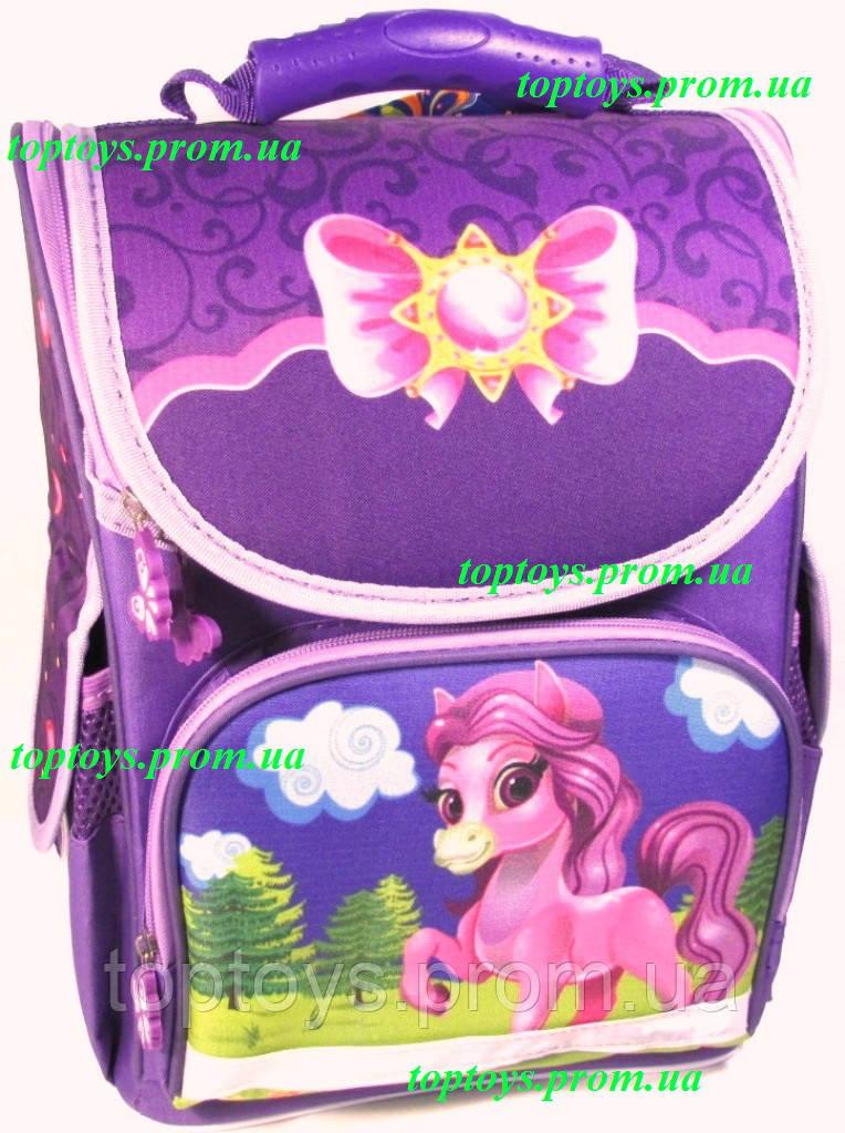 17598c5d0126 Рюкзак каркасный ортопедический школьный для девочки, Маленький Пони,  little Pony