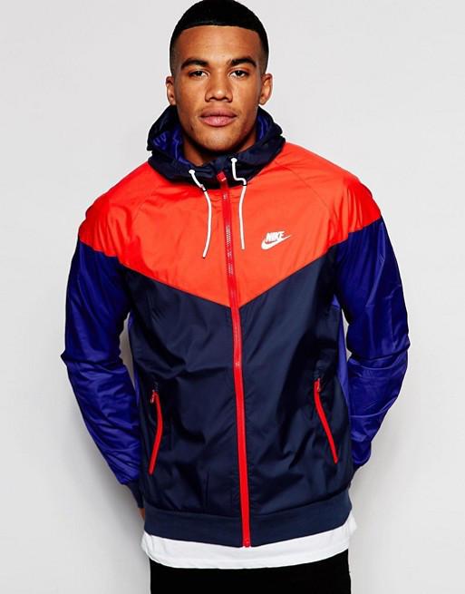 b988afad Куртка Nike Sportswear Windrunner Jacket 727324-452 (Оригинал) - Football  Mall - футбольный