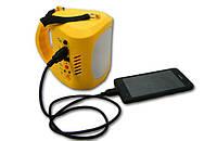 Фонарь светодиодный BT-N710 + солнечные батареи + USB Зарядка + FM Радио