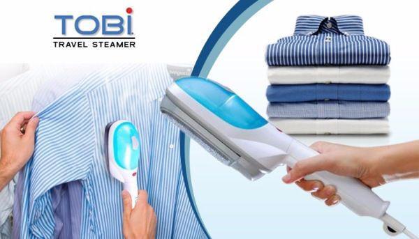 Щетка отпариватель для одежды ручной вертикальный TOBI Travel Steamer 70c0c7fdcb6db