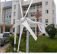 400 вт / 600 вт 24v Ветрогенератор 5 лопастей, фото 1