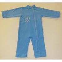 Детский теплый флисовый комбинезон для новорожденных