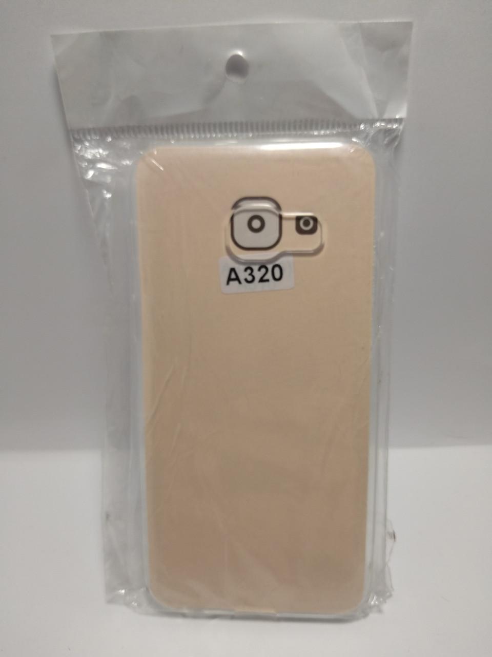 Силіконовий чохол Samsung A320 прозорий