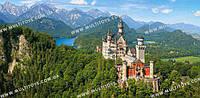 """Кастор пазлы """"Замок Нойшванштайн, Германия"""" (С-400218)"""