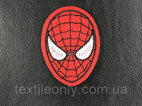 Нашивка человек паук / spider man 43х60 мм  , фото 2
