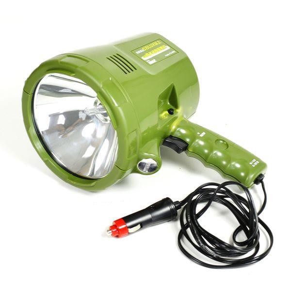 Прожектор-ксенон, с ручкой, корпус зеленый, 3600 lm, точечный